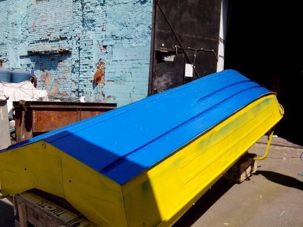 краска для алюминиевой моторной лодки