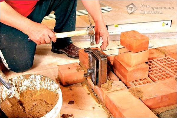 Как сделать раствор для кладки печи своими руками