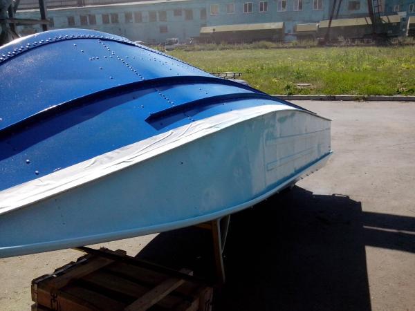 красим дюраль лодку