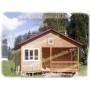 Новинка от «Стройкомплекта»: деревянный дом из бруса 6х6м