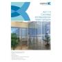 Буклет рекламный «Система интерьерных перегородок, ALT 111»
