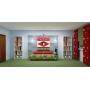 Декорирование детской комнаты для мальчика, общая площадь 18 кв.м (6мх3м).