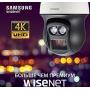 Новая вандалозащищенная поворотная IP-камера бренда Samsung с ИК-прожектором, 20х трансфокатором и 4К сенсором