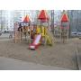 Первая в Казани детская площадка с резиновым покрытием!