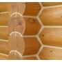 Как защитить межвенцовые швы в деревянном доме?