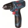�������� ��������, ������� ��������, ��������� ����: �������������� �����-���������� Bosch GSR 120-LI Professional