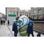 В Москве создали «Стол мира» и двухметровые пасхальные яйца
