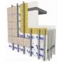 Металл Профиль разработал конструкцию вентфасада для лёгких стен