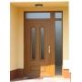 Входные ламинированные двери с заполнение VP trend