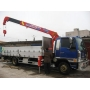 Перевозка груза на грузовике - Манипуляторе