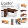 Серия мебели Бостон или «комплексный офис» - в ногу со временем.