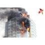 Пожар в Красноярске может повлиять на весь строительный рынок