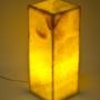 Светильники из натурального камня