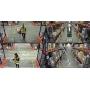 Круговой видеоконтроль и образцовое качество картинки обеспечит 4-сенсорная камера AXIS P3717-PLE