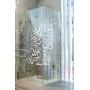 Зеркальный тренд в душевых ограждениях на выставке MosBuild 2017