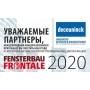 Новинки Deceuninck на выставке Fensterbau Frontale 2020: запуск европейской платформы Elegant с базой iCOR