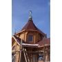 В Ростове-на-Дону возвели новый деревянный храм с энергоэффективными технологиями