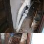 Разрушение стены в жилом доме в г. Калининград.