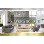 Новинка! Дизайнерские обои «Silver&Gold»!
