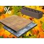 Лицевой кирпич и тротуарная плитка Braer: осенние скидки