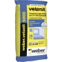 Weber.vetonit 6000 – быстротвердеющая стяжка  нового поколения