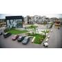 В «Белом городе» установлена автоматическая система орошения газонов