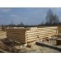 ООО СК «Теремок» начал строительство коттеджей из тесаного бревна