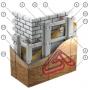 Экономия на использовании фасадного материала