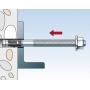 Рекомендации по монтажу клиновых стальных анкеров