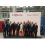 Viessmann торжественно открыл завод по производству промышленных котлов в России