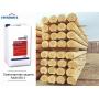 Временная защита древесины на период усадки дома – Советы мастеров