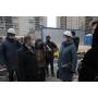 Михаил Романов проинспектировал ход строительства и реконструкции социальных объектов Колпинского района