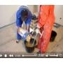 Финишное выравнивание при помощи наливного пола с использованием маяков видеосюжет с места проведения работ