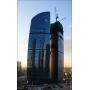 В небоскребе «Запад» делового комплекса «Федерация» учет тепла и воды измеряется ультразвуком