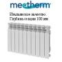 """Алюминиевый радиатор """"Mechterm Jet R"""" 500/100 4,6,8,10,12 сек ИТАЛИЯ"""