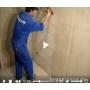 Работы по шпатлеванию поверхности стен