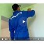 Красим стены декоративным покрытием видеосюжет с места проведения работ