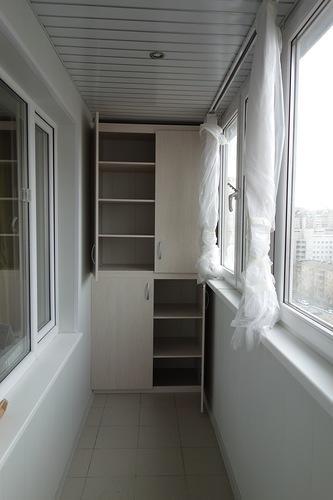 Встроенная мебель на балкон москва - mirstroek.ru.