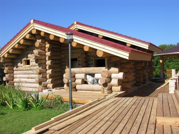 проект дома баня из лиственницы до 100 м2