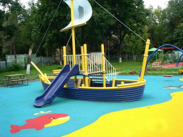 фото в лодке детский сад