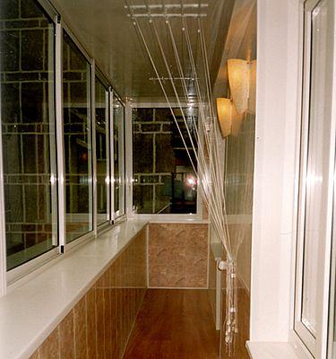 Внутренняя отделка балкона евровагонкой или панелями пвх из .