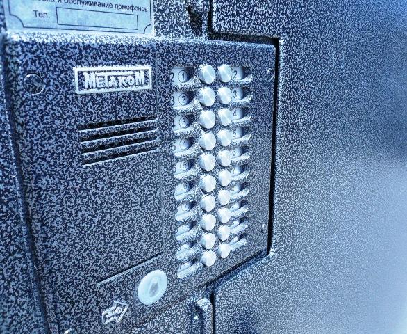 установка домофонов на входную дверь