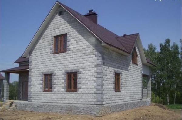 Сделать своими руками дом из пеноблоков