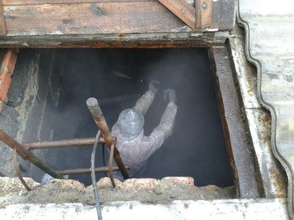 Чистка сливных ям своими руками