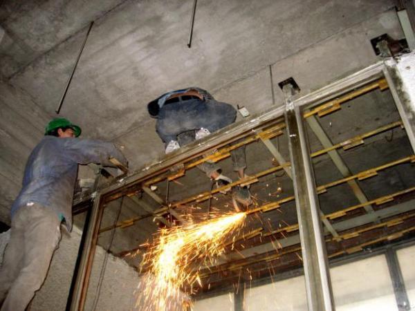 стальные двери демонтаж металлоконструкций