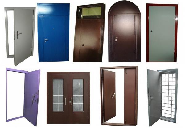 двери металлические техническая на заказ