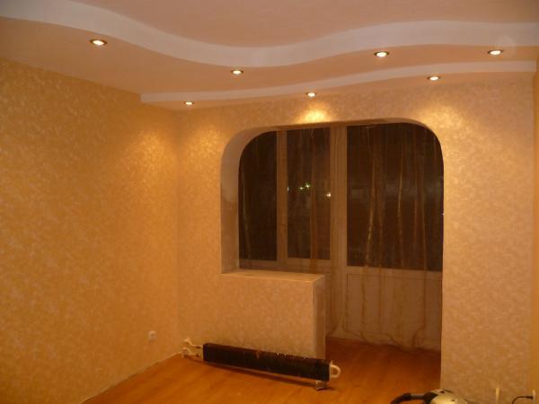 Схемы утепление совмещенной комнаты с балконом..