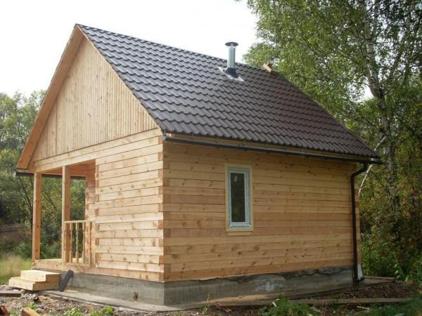 строительство бани брус дом строй