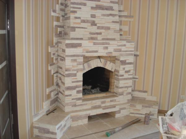 Печь камин для дома фото