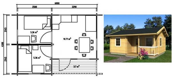 Проект дача дом своими руками